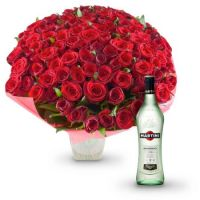 Boquet of 101 red roses | order with delivery