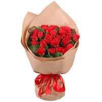 Bouquet 25 red roses El Toro