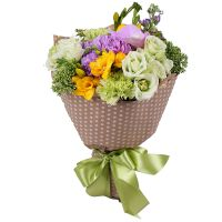 Buy delicate tender orchid bouquet �French Compliment� with delivery