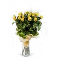 Bouquet Yellow roses by the piece