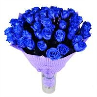 Bouquet 51 blue roses
