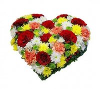 Bouquet Colorful heart