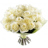 Bouquet White silk