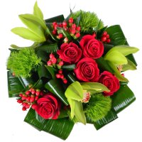 Bouquet Red-and-green