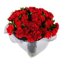 «Funeral bouquet with carnations» | make an order on the UFL site