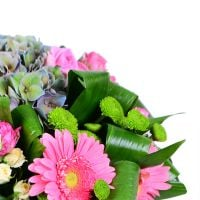 Bouquet Pink-and-green