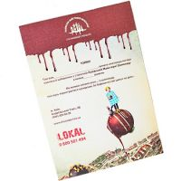 Product Certificate of Lviv Chocolate Workshop (500grn).