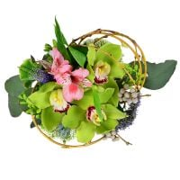 Order bouquet «Pistachio» in inrernet-shop