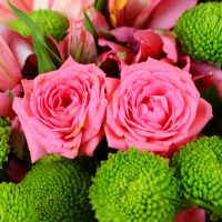 Order flowers «Pink bouquet of love» online in internet shop