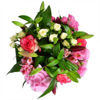 Beautiful flower bouquet «Strawberry» with delivery