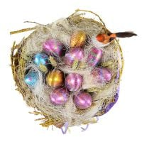 Order Bouquet of chocolate eggs with delivery