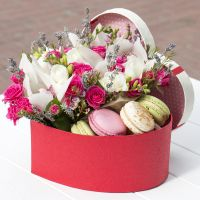 Bouquet Flower box of happiness