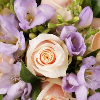 Buy beautiful bridal bouquet «Forget-Me-Not» with delivery