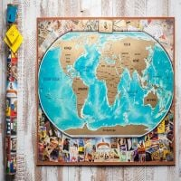 Buy Scratch Map: My Vintage Map with the best delivery