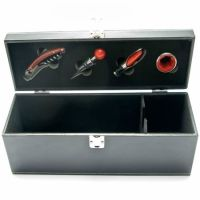 To buy a case for a bottle with the sommelier set ''Elegant'' with delivery