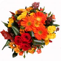 Bouquet Bright Mix of 25 Flowers