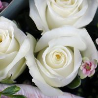 Order tender rose bridal bouquet «Rosita» with delivery