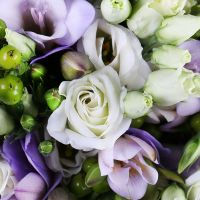 Order bridal bouquet online «Violet Dewdrop» with delivery to any city