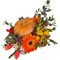 Order an original composition ''Magic Autumn'' with delivery to any destination