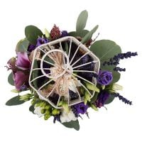 Bouquet Cage with Flowers