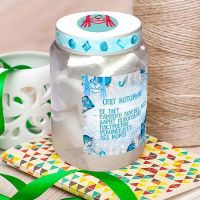 Order sweets «Snow jar» with delivery to any city of the world.