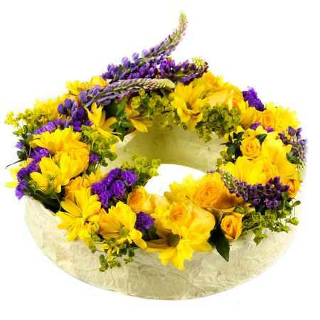Order the bouquet «Forest melody» with a fast delivery to any city of the country and the world