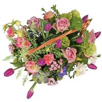 Order the flower basket «Morning in Venice» with delivery to any city