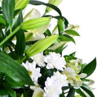 Order funeral basket «Emerald» with delivery to any city
