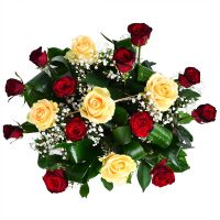 Bouquet Basket of roses
