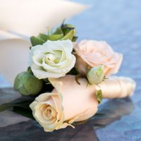 Buy boutonniere «Petals tenderness». Delivery!
