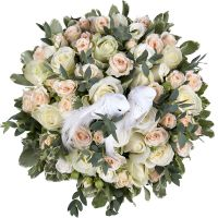 Order bouquet �Cloud lightness� with delivery