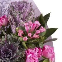 Order an alluring bouquet «Frosty freshness» with delivery