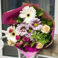 Order the bouquet «Purple Velvet»  in our online shop. Delivery!