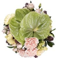 Order the bouquet «Precious beryl» in our online shop. Delivery!