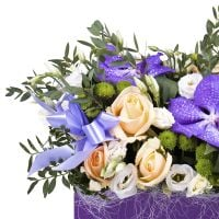 Order the bouquet «Flower present» in our online shop. Delivery!