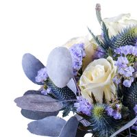 Buy bouquet «Winter touch» in the online store with delivery!
