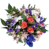 Order wonderful bouquet «Shakespeare in Love» in our online shop