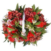 Order flower composition «Cassandra's embraces» in our online shop