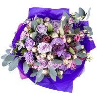 Order beautiful bouquet «Northern passion» in our online shop