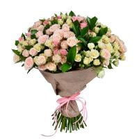 Flower bouquet �Pink and white� order with delivery