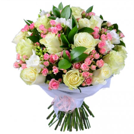 Bouquet White-and-pink