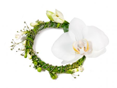 Order a bouquet of ''Bracelet with orchid'' in the online store