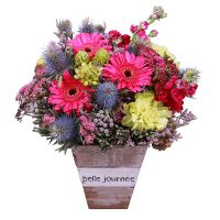 Buy creative bouquet «Boho» with same day delivery flowers
