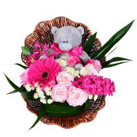 Order flower bouquet «Shell for a princess»