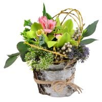 Order bouquet �Pistachio� in inrernet-shop