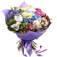 Buy alluring bouquet �Flower enchantress� with delivery to any city