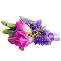 "Bouquet Boutonniere ""Grace dance\"""