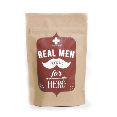 Buy a tea ''For real men'' in the original packaging in the online store. Delivery!