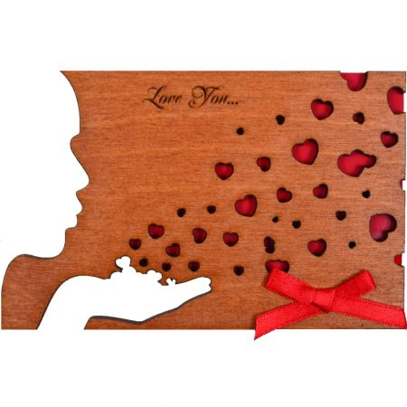 Product Wooden card #5