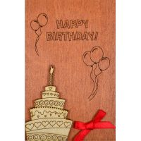 Product Wooden card #6